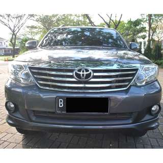 Toyota Grand Fortuner Diesel AT 2011  grey metalic , The World Is Mine