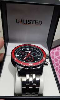 men's watch unlisted