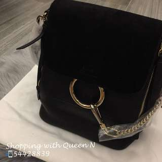 Chloe Small Faye Backpack