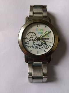 大口仔日曆手錶