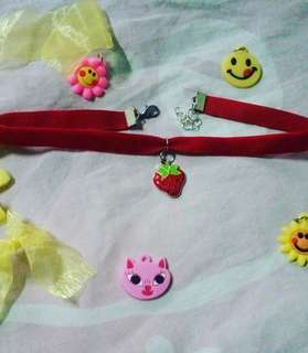 SALE!! Red Flavor Choker