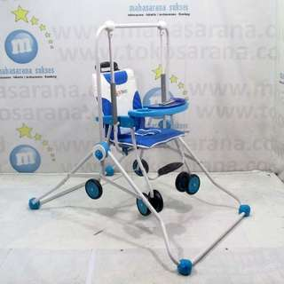 2in1 baby swing+chair stroller