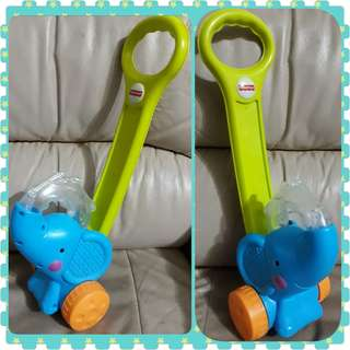 Fisher-Price Growing Baby Pop 'n Push Elephant