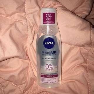 NIVEA MICELLAIR 0% ALKOHOL FOR DRY/SENSITIVE SKIN
