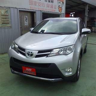 【SUM尼克汽車】2014 Toyota豐田 RAV-4 2.0L