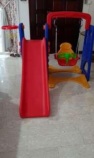 Toy slide playground