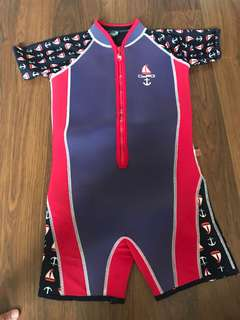 Kid liferacer thermal swimsuit