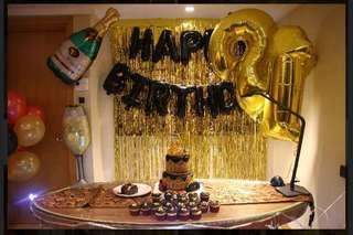 Birthday Party Helium Balloons