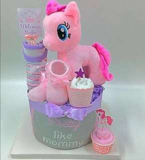 Ready stock- My little pony Baby Diaper Cake