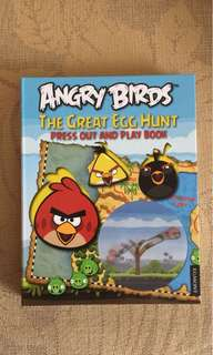 🆕Angry Bird Press Out & Play Book $129