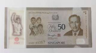 SG50 Commemorative Jubilee Notes