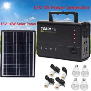 Brand New - Yobolife Solar Power Generator x2 going @ $120 EACH!!!