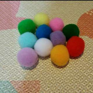 Pong Pong Ball Assorted Colors - Middle Size
