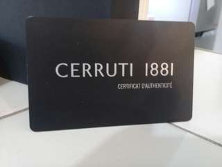 Cerruti 1881 mens wallet