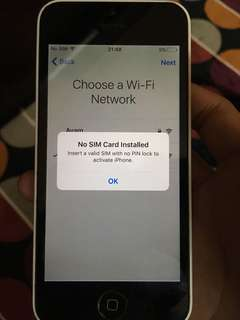 Iphone 5c japan set 32gb