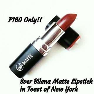 Ever Bilena Matte Lipstick in Toast of New York