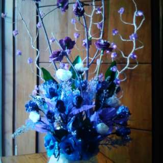 Bunga kaca ungu