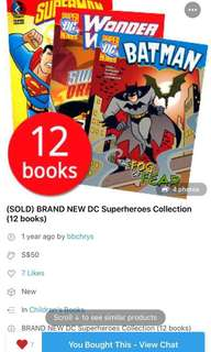 Pre-loved DC Superheroes Collection