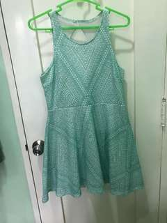 Aeropostale teal dress