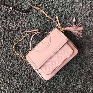 #In Stock# Tory Burch Fleming pink