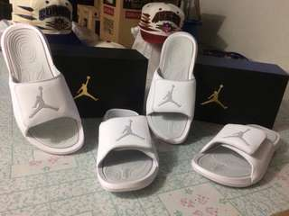 All White Jordan Hydro 6 Brand New With Box