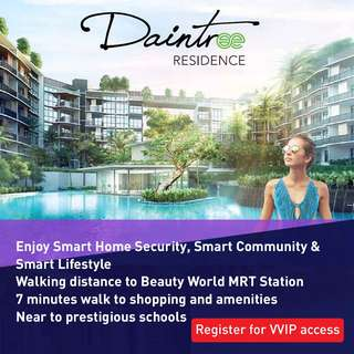 Daintree - New launch at Toh Tuck road
