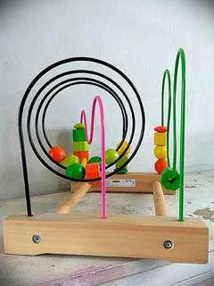Ikea Wooden toy for baby brain development