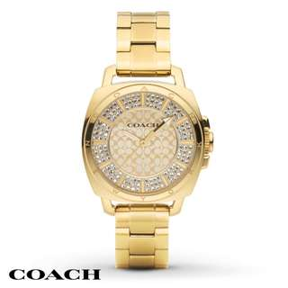 Women's Coach Gold Plated Watch