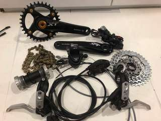 Shimano Deore XT M785 Groupset 1 x 10 Speed