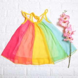 🚚 Instock - Colourful Swirl Dress, baby infant toddler kid