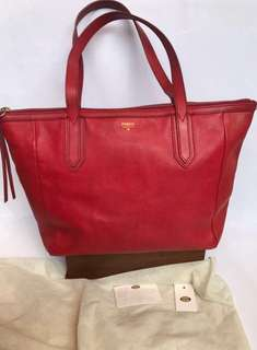 Fossil red bag ori