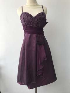 Formal Dress Ungu