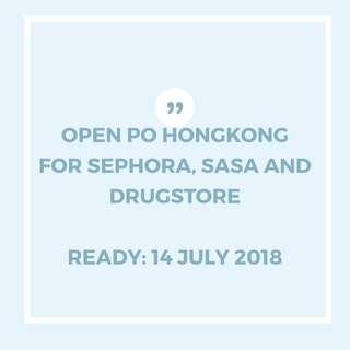 OPEN PO HONGKONG