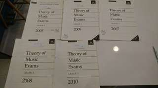 ABRSM theory exam papers grade 3