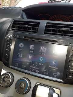 Alza double din 9 inch-cd player problem