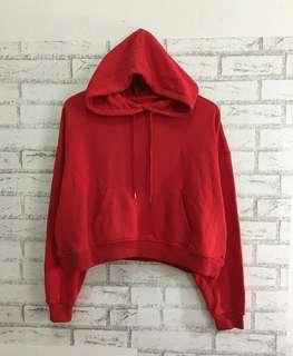 H&M Crop Hoodie Sweatshirt