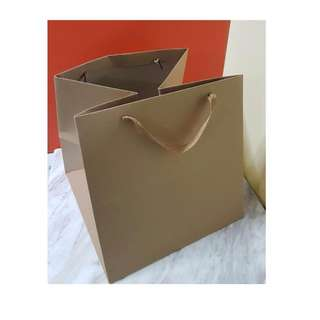 Kraft paper bags for cake boxes
