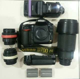 Nikon D700 packages