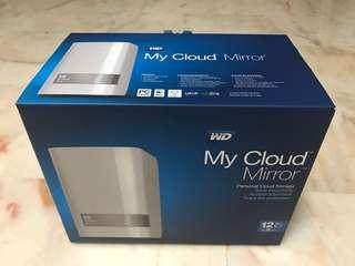 WD Cloud Mirror 12TB NAS