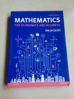 buku mathematics for economics and business
