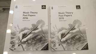 ABRSM GRADE 8 past year theory exam papers
