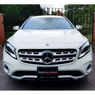 New Mercedes-Benz GLA180 facelift @ $131,800 only