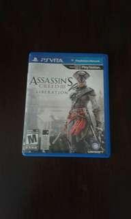 PS Vita Game; Assassins Creed Liberation III