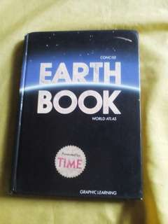 Concise Earth Book World Atlas presented by Time