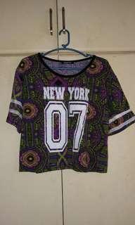 New York 07 crop top