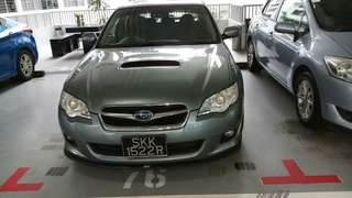 Subaru lagecy 2.5 auto turbo 2008