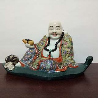 Laughing Buddha Ceramic
