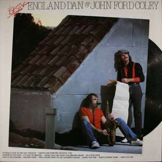 Best of England Dan & John Ford Coley LP - Near Mint
