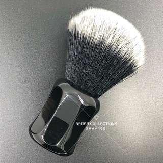 24mm Shaving Brush Tuxedo Synthetic Hair