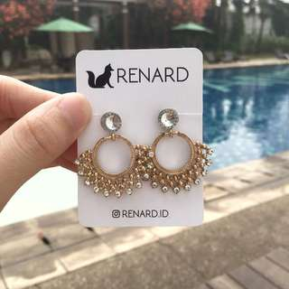 Nehi  Earring / anting cantik / anting manis / anting keren / anting gaul / anting model / anting korea / anting import / anting fashion / anting pesta / anting lucu / anting imut